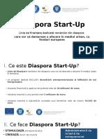 Diaspora Start Up Octombrie 1