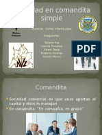Sociedad Simple y Comandita