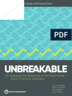 Unbreakable - Building the Resilience of the Poor in the Face of Natural Disasters