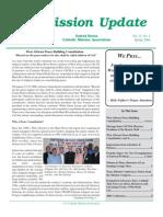 Spring 2006 Mission Update Newsletter - Catholic Mission Association