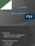 Hemostatika - Dr. Hayati
