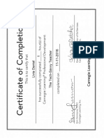 webinar certificate