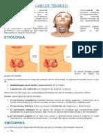 Cancer Tiroideo