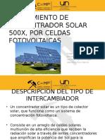 Presentacion de Concentradores Solares
