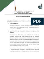 Impacto Del Turismo en La Region de Puno