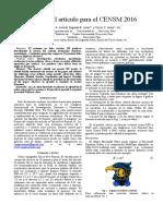 Formato de Artículos CENSM 2016 (2)Nn
