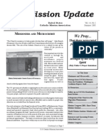 Summer 2004 Mission Update Newsletter - Catholic Mission Association