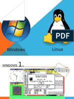 Evolucion Windows Linux