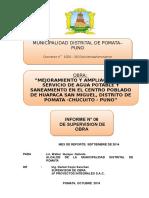 Infor Mensual Superv 06 Septiembre San Miguel Pomata