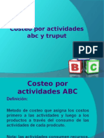 Costeo ABC y Truput