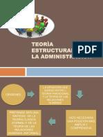 Teorìa Estructuralista de La Administraciòn