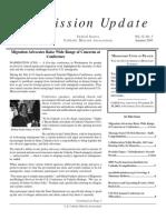 Autumn 2003 Mission Update Newsletter - Catholic Mission Association