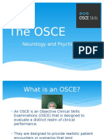The OSCE Orientation