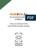 Numeralia ilustrada de los adultos mayores en México