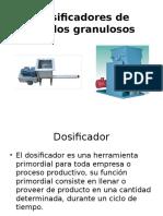 Dosificadores de Sólidos Granulosos