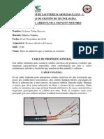 tipos de alambres utilizados en aviacion