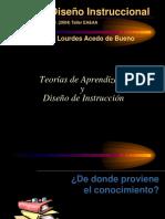 P2 Acedo Teorias de Aprendizaje y DI