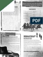 Desperados (PC) Manual