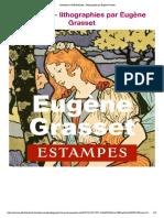 lithographies par Eugène Grasset