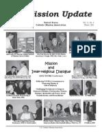 Winter 2002 Mission Update Newsletter - Catholic Mission Association