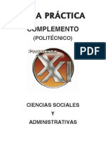 Complemento Ciencias Sociales y Administrativas IPN