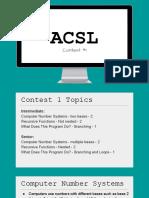 acsl 16-17 contest 1 notes - recursive functions cns wdtpd  1