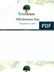 THS Investor Day Presentation - November 14 2016