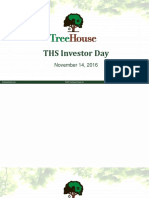 THS Investor Day Presentation - November 14 2016