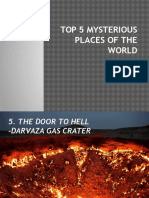 Top 5 Mysterious Places of the World