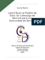 05 Cómo Guiar al Pueblo de Dios. Un Liderazgo de Servicio para una Comunidad de Servicio.pdf