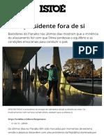 Uma Presidente Fora de Si - Revista Istoé 01.04.2016