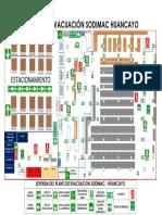 Plano de Evacuacion Sodimac - Huancayo