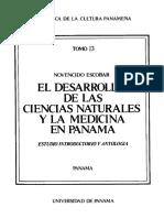 Desarrollo de las ciencias naturales y la medicina en Panamá