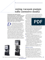 Dry-running Vacuum Pumps Can Handle Corrosive Media