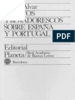 Alvar Carlos Textos Trovadorescos Sobre Espana y Portugal