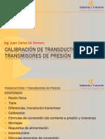 Calibración de Transductores