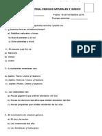 Prueba Final 3º Para Revision