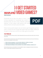 Getting Started Making Video Games [eBook]