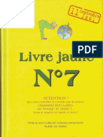 Livre Jaune N°7