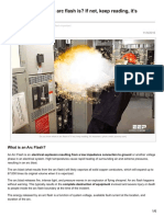 Arc Flash Importance