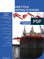 Sheet Pile Capping System Manual