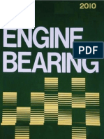NDC Engine Bearing for Japanese Vehicles Catalogue 2010; Вкладыши двигателя NDC 2010