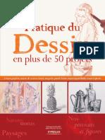 Pratique du Dessin en plus de 50 projects, francés