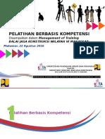 1. Pelatihan Berbasis Kompetensi