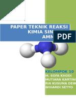 Kelompok 10-Paper Sintesis Amonia Dengan Katalis Ru Dan Fe
