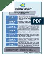 Prosedur Pendaftaran Wisuda April 2015