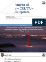 SFPD Presentation on Reform Reports to Board of Supervisors 11-14-16