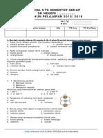 Soal UTS IPA Kelas 6 SD Semester 2 2015-Sribusoal.web