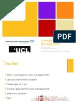 Intro Anesthesia 2016 Emergency