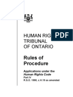 HumanRightsOnt_RulesOfProcedure
